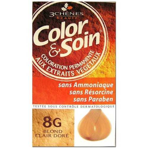Color & Soin Coloration Blond Clair Doré 8G