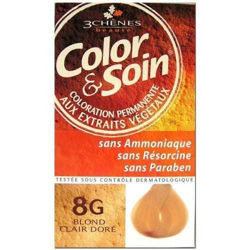 Color & Soin Coloration Blond Clair Doré 8G