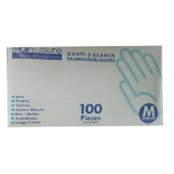 GANTS D'EXAMEN EXAMINATION GLOVES 100PC