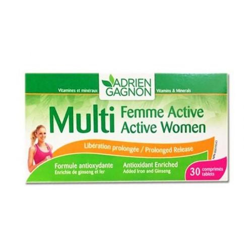 MULTIFEMME ACTIVE, 30 comprimés