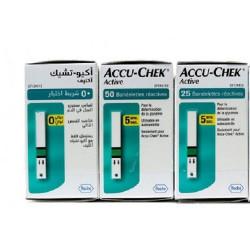 ACCU-CHEK COFFRET 125 BANDELETTE