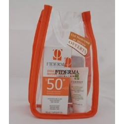 FIDERMA COFFRET CREME INVISIBLE SPF50+GEL NETTOYANT 20ML ET MIROIR OFFERTS