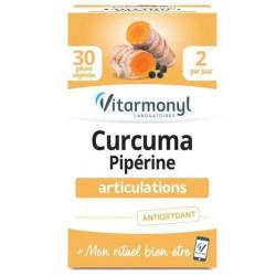 VITARMONYL CURCUMA PIPERINE 30 GELULES