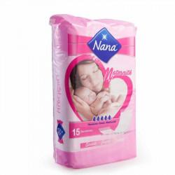 NANA Serviettes Maternité Periodex 15 pièces