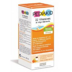 PEDIAKID 22 VITAMINES & OLIGO-ELEMENTS 125 ML