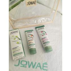 PACK JOWAE : Creme gommante + Fluide matifiant + Creme Mains et ongles 50ml (offerte)