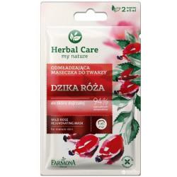 Farmona Herbal care Wild rose rejuvenating face mask 2*5ml