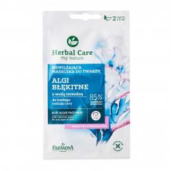 Faromna herbal care Care Blue Algae face mask 2*5g