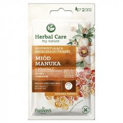 Farmona herbal care Manuka honey face mask 2*5g