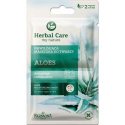 farmona herbal care Aloes moisturizing face mask 2*5g
