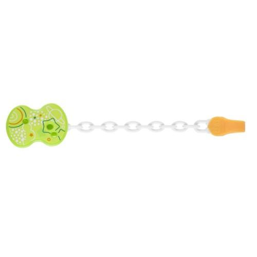 Attache-sucette chaînette, vert