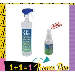 VERACOS BACTI NETTOYANT PROTECT 500 ML + BACTI PROTECT LOTION DESINFECTANT 100 ML (Offerte)