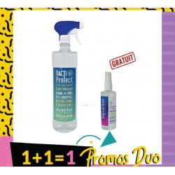 VERACOS BACTI NETTOYANT PROTECT 1L + SEPTACLEAN LOTION DESINFECTANT 100 ML (Offerte)
