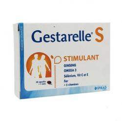 IPRAD GESTARELLE S STIMULANT, 30 CAPSULES