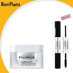 B.P FILORGA SLEEP & LIFT CREME ULTRA-LIFTANTE NUIT 50 ML + FILORGA OPTIM EYES LASHES & BROWS (GRATUIT)
