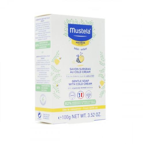 MUSTELA Savon Surgras au Cold Cream Nutri-Protecteur, 150g