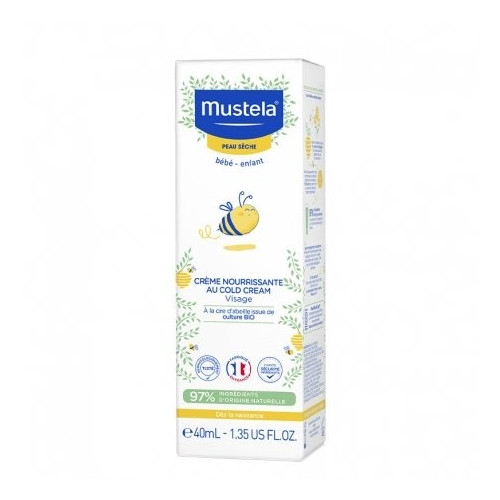 MUSTELA Cold Cream Nutri Protecteur, 40ml