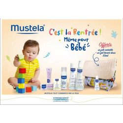 MUSTELA PACK SAC A DOS POUR BEBE
