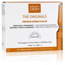MARTIDERM The originals Proteos hydra plus SP PEAUX NORMALES-MIXTES 10 ampoules