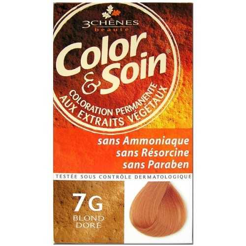 Color & Soin Coloration Blond Doré 7G
