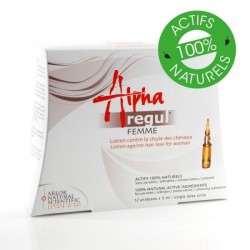 Alpharegul lotion Anti-Chute pour femme, 12 x 5 ml