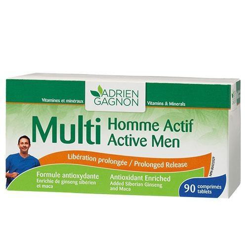 MULTIHOMME ACTIVE, 30 comprimés