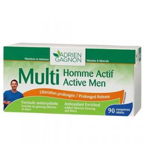 MULTI HOMME ACTIVE, 30 comprimés