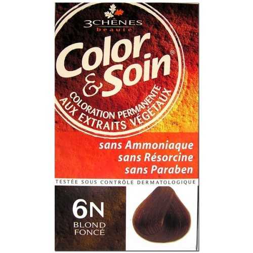 Color & Soin Coloration Blond Foncé 6N