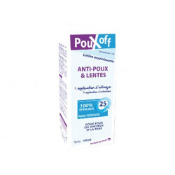 PouXoff Lotion Assainissante Adultes, 100ml
