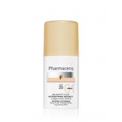 PHARMACERIS INTENSE COVERAGE - MILD FLUID FOUNDATION SPF20 (IVORY 01), 30ml