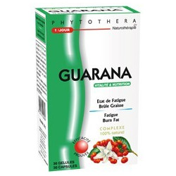 PHYTOTHERA GUARANA, 30 gélules