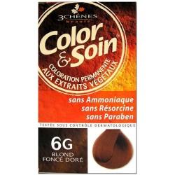 Color & Soin Coloration Blond Foncé Doré 6G