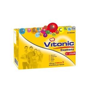 VITONIC EXAMENS, 45 gélules