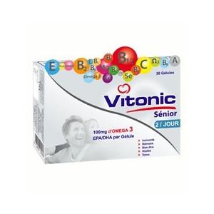 VITONIC SENIOR, 30 gélules