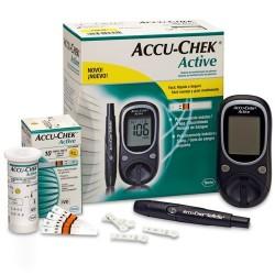 ACCU-CHEK Active 1 appareil + 100 bandelettes + 1 softclix