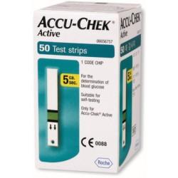 ACCU-CHEK Active BANDELETTES ,50 bandelettes