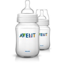 AVENT LOT DE 2 BIBERON CLASSIC, 125ml