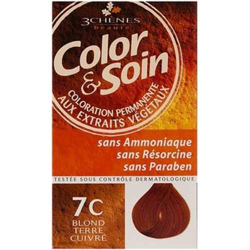 Color & Soin Coloration Blond Terre Cuivré 7C