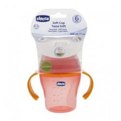 CHICCO tasse souple red 6m+