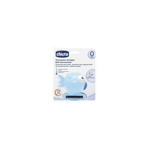 CHICCO thermomètre de bain blue fish