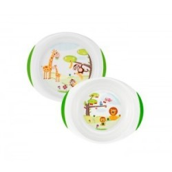 CHICCO PLAT SET, 12M+