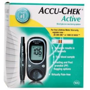 ACCU-CHEK ACTIVE LECTEUR DE GLYCEMIE