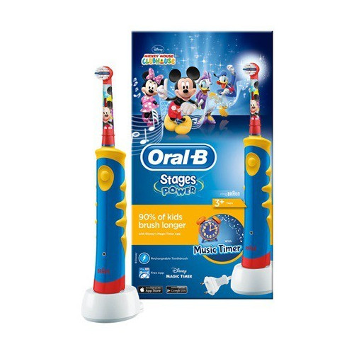 oral b brosse dent lectrique pour enfant stages power. Black Bedroom Furniture Sets. Home Design Ideas