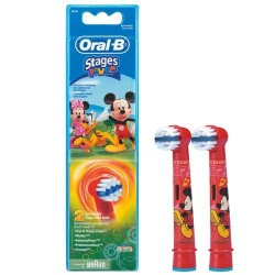 Oral-B 2 Brossettes mickey