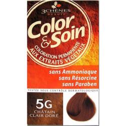 Color & Soin Coloration Châtain Clair Doré 5G