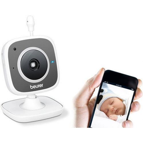 BEURER Moniteur de surveillance vidéo babyphone BY 88