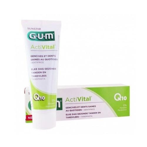 Gum Activital Dentifrice, 75ml