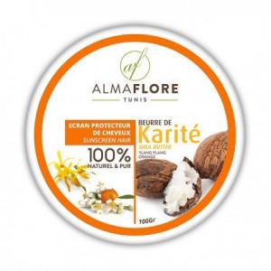 ALMAFLORE Beurre de Karité ylang ylang et Orange 100gr