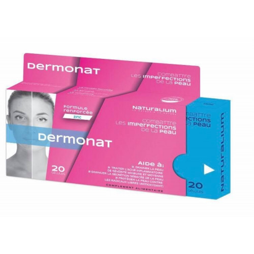 NATURALIUM dermonat, 20 gélules