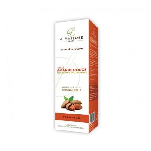 ALMAFLORE Huile d'Amande douce, 50ml